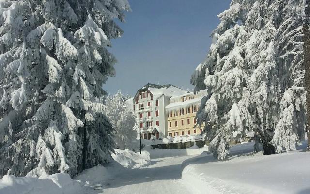 Le musée sous la neige...