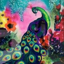 Sheila's peacock