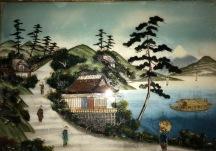 Paysage lacustre Japon