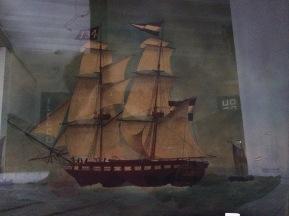 Marine anglaise XIX ème
