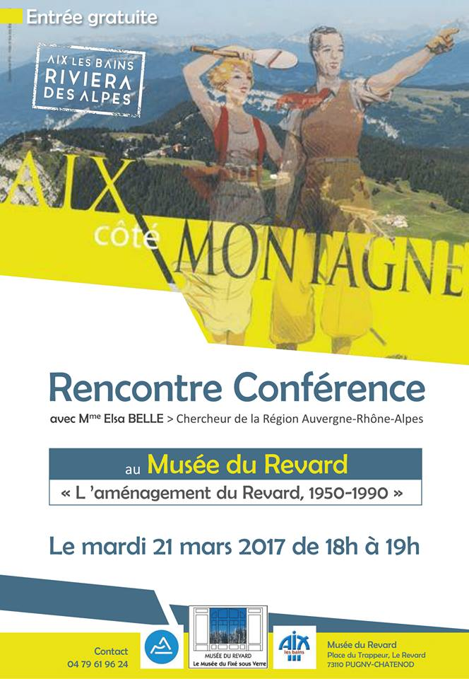 Conference du 21 mars 2017